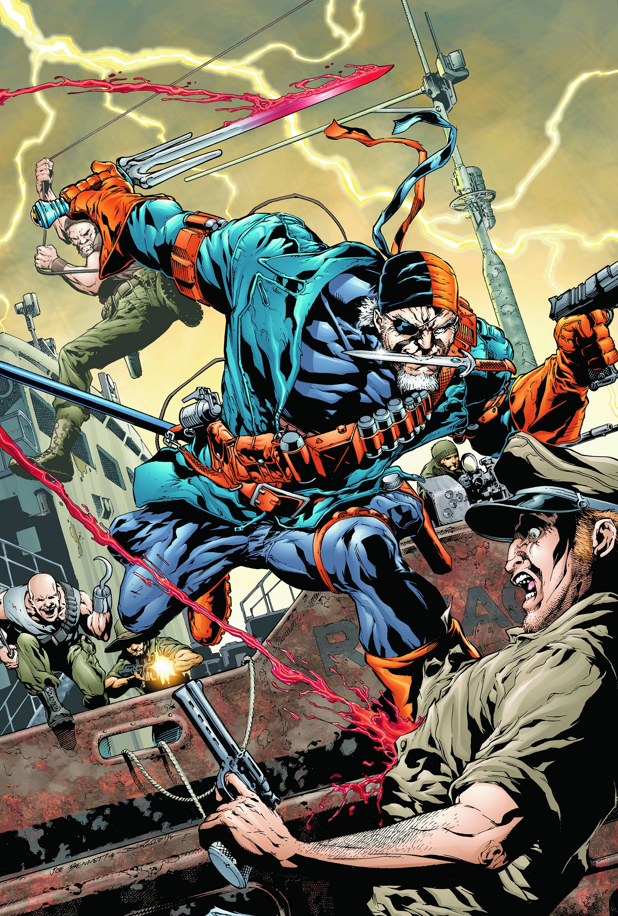 Flashpoint  Deathstroke and the Curse of the RavagerDeathstroke And Ravager